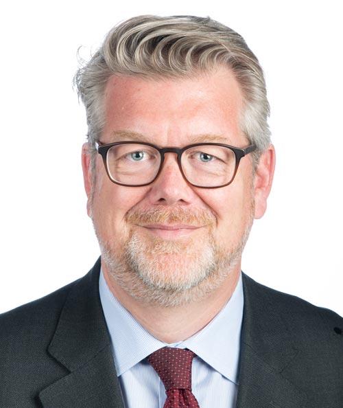 Vorstand Finanzen Patrick Huber