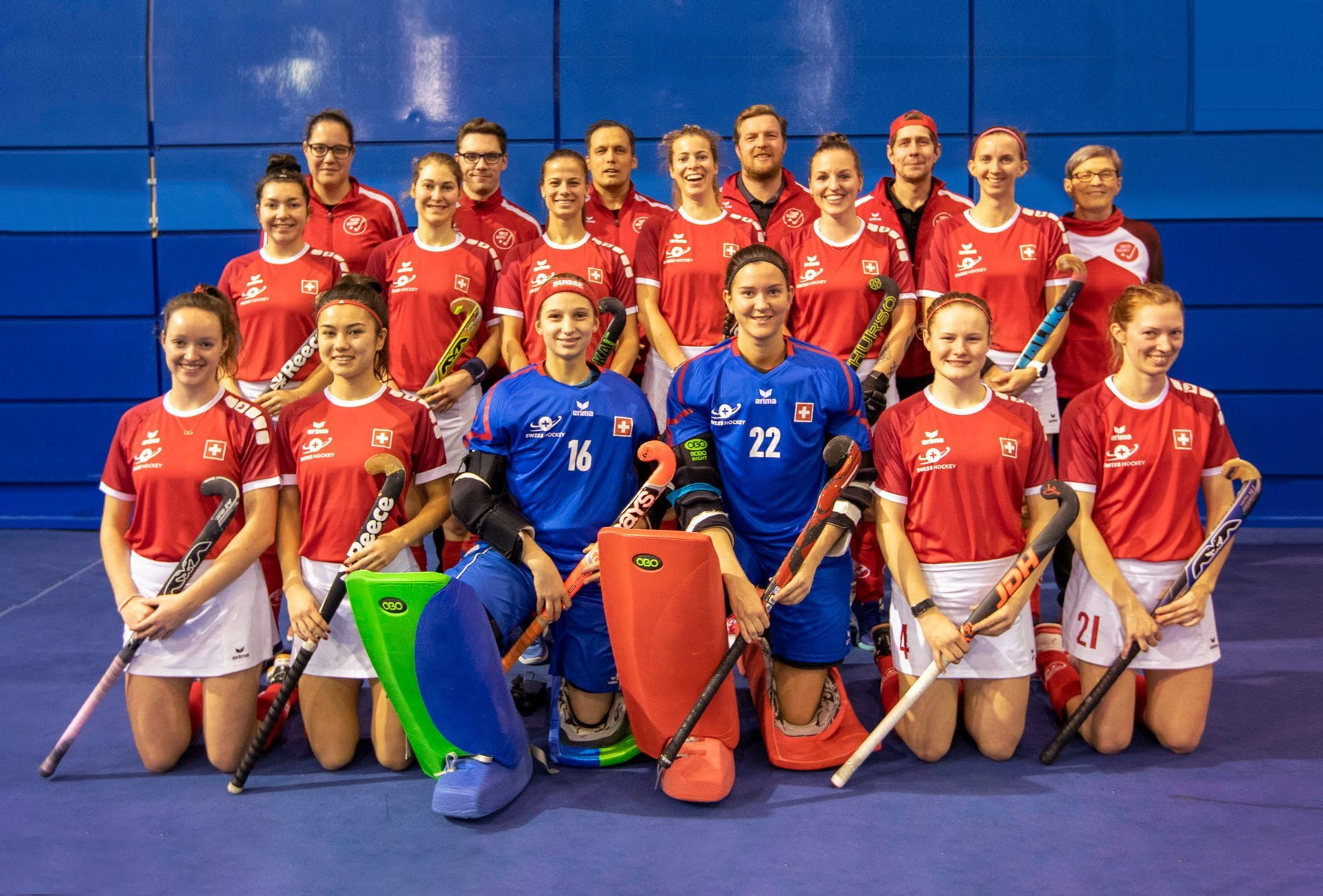 Swiss-Hockey-Nationalmannschaft-Damen